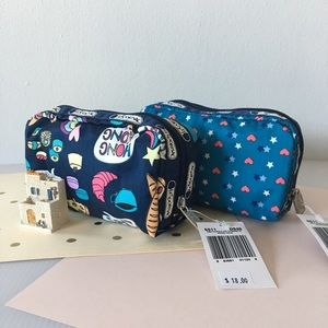 🆕 {Lesportsac}  Cosmetic Bag